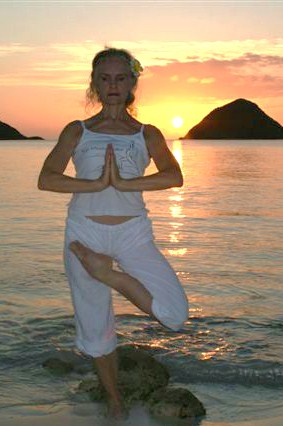 Yoga Sunset Beach